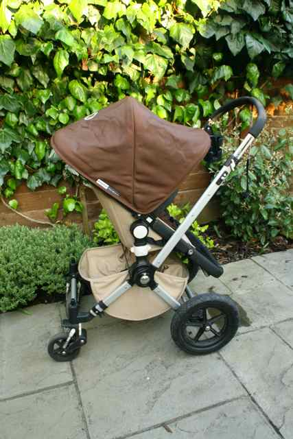 Bugaboo Cameleon - Sand and Dark Brown - £300